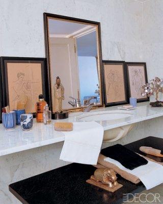 Glam bathrooms from elle decor house of deva for Bathroom elle decor